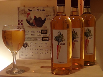 Sweet Carrot Wine