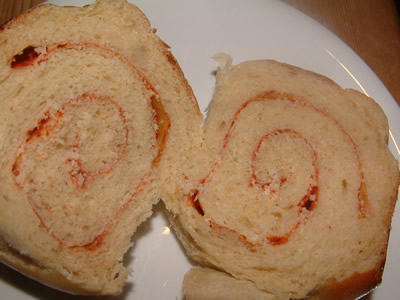 Tomato Tear & Share Buns