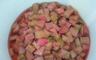 Defrosted Rhubarb